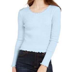 Femme Utility Cropped Thermal T-Shirt